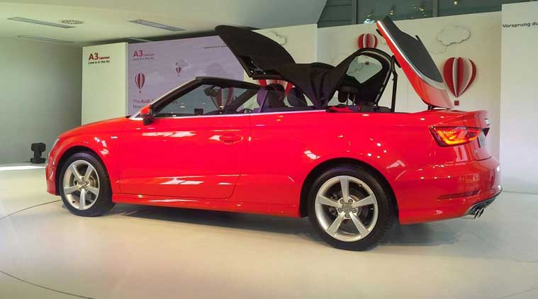 Audi A3 Cabriolet launched at INR 44.75 lakh